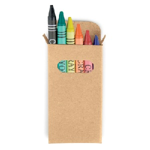Crayon set in box