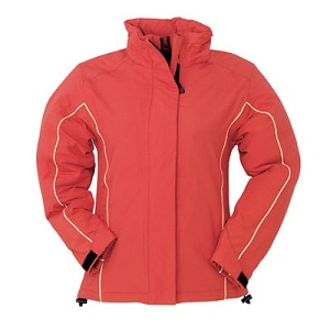Waterproof sports windbreaker with thermo-sealed seams