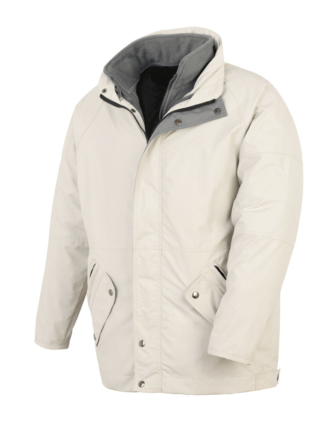 3-in-1 windproof and wateproof parka