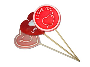 Valentines Lollies